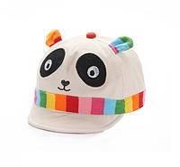 Детская кепка панда.