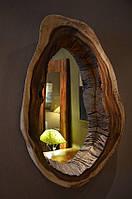 Рама для зеркала из натурального дерева