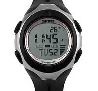 Кварцевые спортивные часы Skmei (black-white)