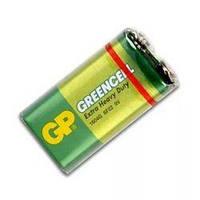 """Батарейка GP Greencell 9V 1604GLF-2S1, """"Крона"""""""