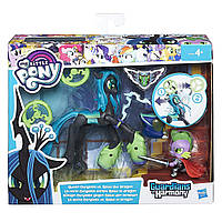 Набор My Little Pony Королева Кризалис и Спайк Стражи гармонии Guardians of Harmony Queen Chrysalis V. Spike