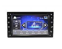 Автомагнитола DVD 2 DIN с сенсорным экраном (магнитола в автомобиль)