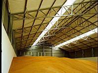 Склады напольного хранения зерна