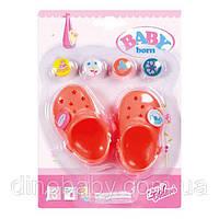 Обувь для куклы кроксы Zapf Creation в ассортименте