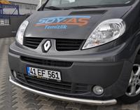 Защитная дуга переднего бампера на Renault Trafic / Opel Vivaro с 2001... Турция