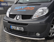 Захисна дуга переднього бампера на Renault Trafic / Opel Vivaro з 2001 Туреччина...