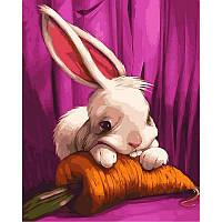Раскраска по номерам Mariposa Милый зайчонок Q-2106