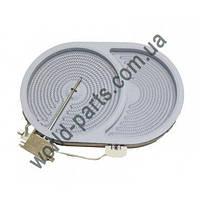 Конфорка для варочной поверхности (2400W/1600W) Bosch, Siemens 00670016 (00445833)