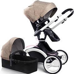 Универсальная коляска 2 в 1 Babysing W-GO