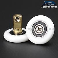 Сменная ось со съемным колесом для роликов душевых кабин, гидробоксов OS-01. , фото 1