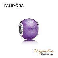 Pandora Шарм ПУРПУРНЫЙ ОГРАНЕННЫЙ КРИСТАЛЛ #791499ACZ серебро 925 Пандора оригинал