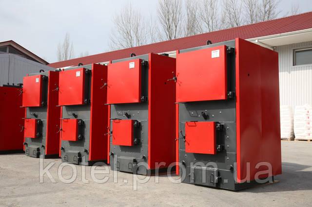 Промышленные твердотопливные котлы на дровах Колви А 1000  6 бар