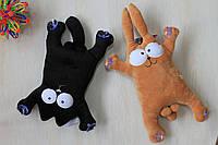 Котик, Волк и Зайчик мягкие игрушки тм Копиця