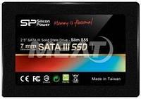 """SSD 120GB Silicon Power Slim S55 2.5"""" SATAIII TLC (SP120GBSS3S55S25)"""