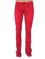 Джинсы женские красные от омат джинс
