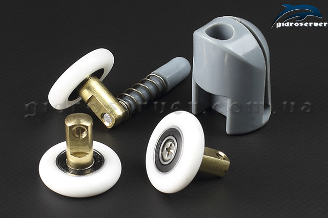 Сменная ось для роликов душевых кабин, гидробоксов OS-01 Сменная ось со съемным колесом для роликов душевых кабин, гидробоксов OS-01 со съемным колесиком.
