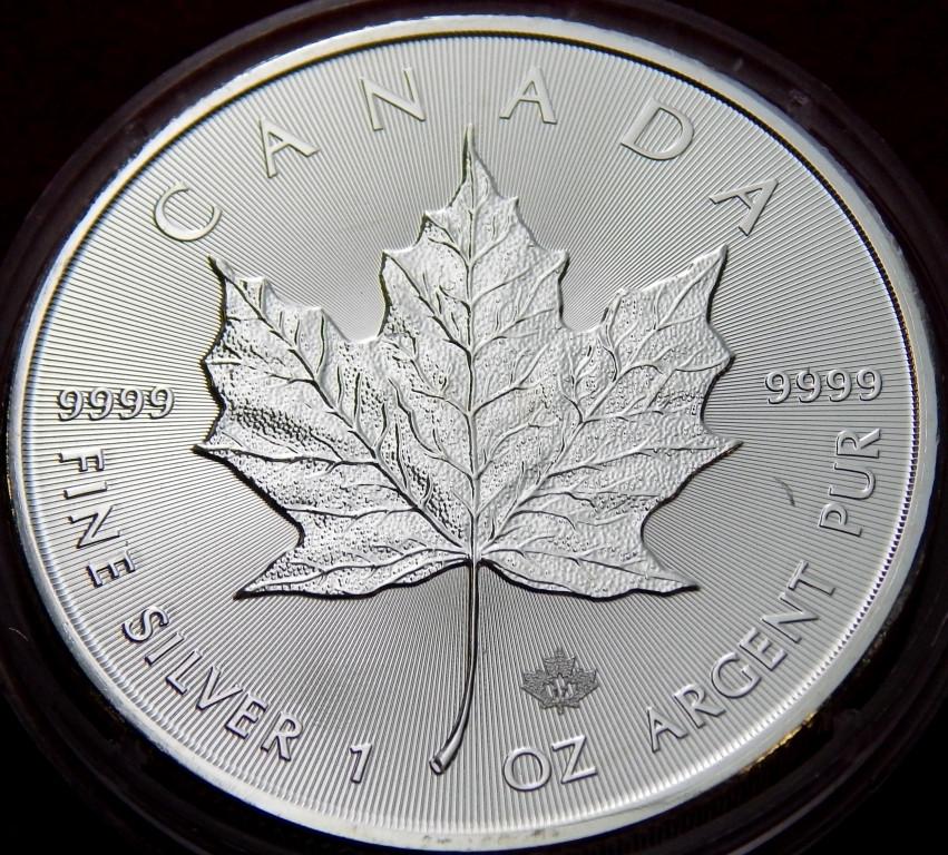 Серебряная монета 5 долларов 1 рубль 2005 ммд