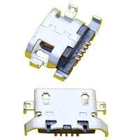 MicroUSB разъем гнездо 5pin MC-125 Lenovo S650 S820 A830 A850 A820T (10 штук в наборе)