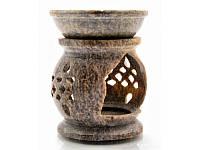 Аромалампа из мыльного камня (8,2х6,5х6,5 см) (5503)