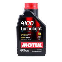 Моторное масло Motul 4100 Tutbolight 10W-40 1L