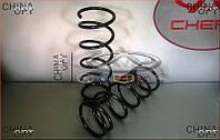 Пружина передней подвески, 1400512180, Джили СК1, СК2, СК1Ф, CK, усиленная, АFTERMARKET - 1400512180
