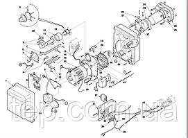 Запасные части к горелке Riello RS-RS/1MZ