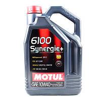 Моторное масло Motul 6100 +10W-40 5L