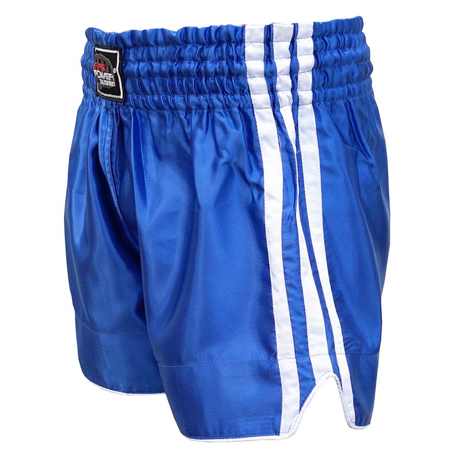 Шорты для тайского бокса (Muay Thai) FIREPOWER ST-15 Blue