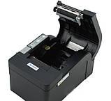 Чековый принтер с автообрезкой Xprinter XP-C58K 58мм USB, фото 5