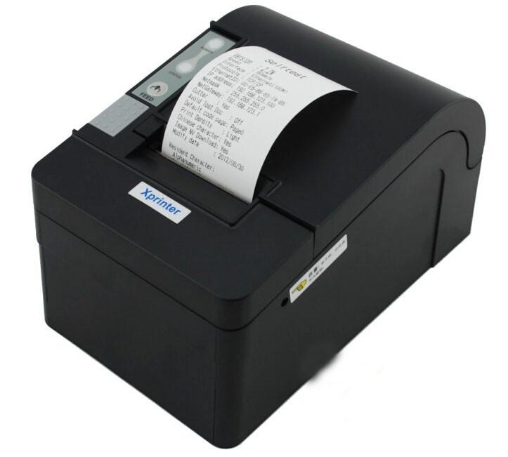 Чековый принтер с автообрезкой Xprinter XP-C58K 58мм USB