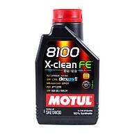 Моторное масло Motul 8100 X-clean 5W-30 1L