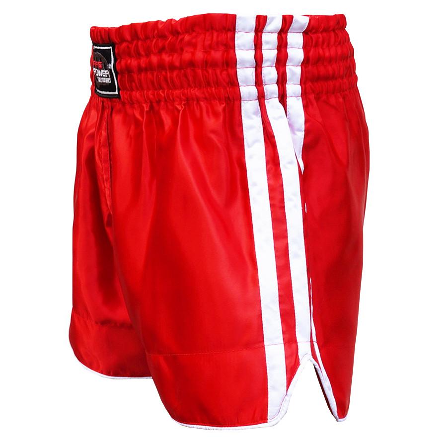 Шорты для тайского бокса (Muay Thai) FIREPOWER ST-15 Red