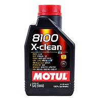 Моторное масло Motul 8100 X-clean 5W-40 1L