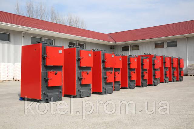 Промышленные твердотопливные котлы на дровах Колви А 400 квт