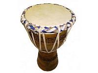 Барабан Джамбег с кожаной натяжкой арт 9090025