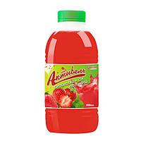 """Напиток сывороточный """"Aktuvel"""" Сыровотка + Сок клубники"""