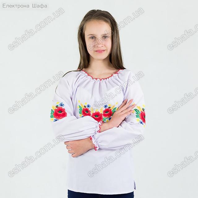 Дитяча вишиванка з колосками
