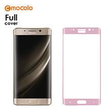 Защитное стекло Mocolo 3D для Huawei Mate 9 Pro розовый