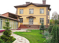 Дизайн фасадов коттеджей