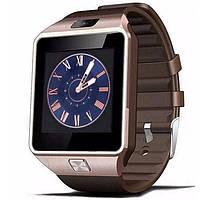 Смарт часы Smart watch DZ09 (цвет золото)