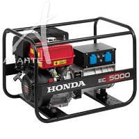 Генератор бензиновый Honda EC5000K1 GVW (4,5 кВА)