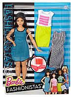 Кукла Барби Модница пышная спорт с набором одежды/Barbie Fashionistas& Fashions So Sporty, Curvy Dark-Hair, фото 1