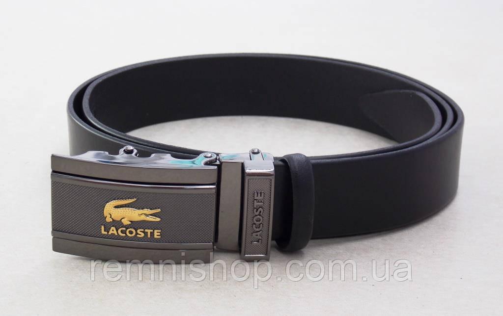 Кожаный мужской ремень Lacoste  продажа, цена в Днепре. ремни и ... 638a260b4be