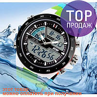 Часы наручные спортивные Skmei 1016 S-SHOCK Blue Colorful / спортивные часы