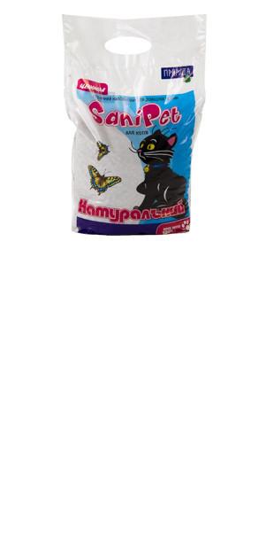 Древесный наполнитель для котов Натуральный 2,5 кг