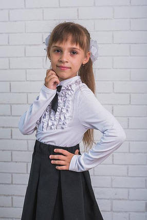 aea520f1d08 Блузка нарядная в школу для девочки  продажа