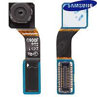 Камера фронтальная (передняя) для Samsung G900H Galaxy S5, оригинальная