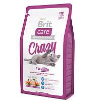 Brit Care Cat 0,4 kg Crazy для котят 1  12 месяцев