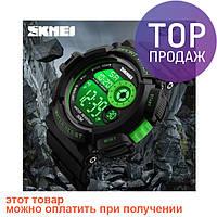 Часы наручные спортивные Sport Watch Skmei 1222 Green / спортивные часы