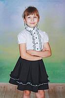 Гольф детский нарядный белый